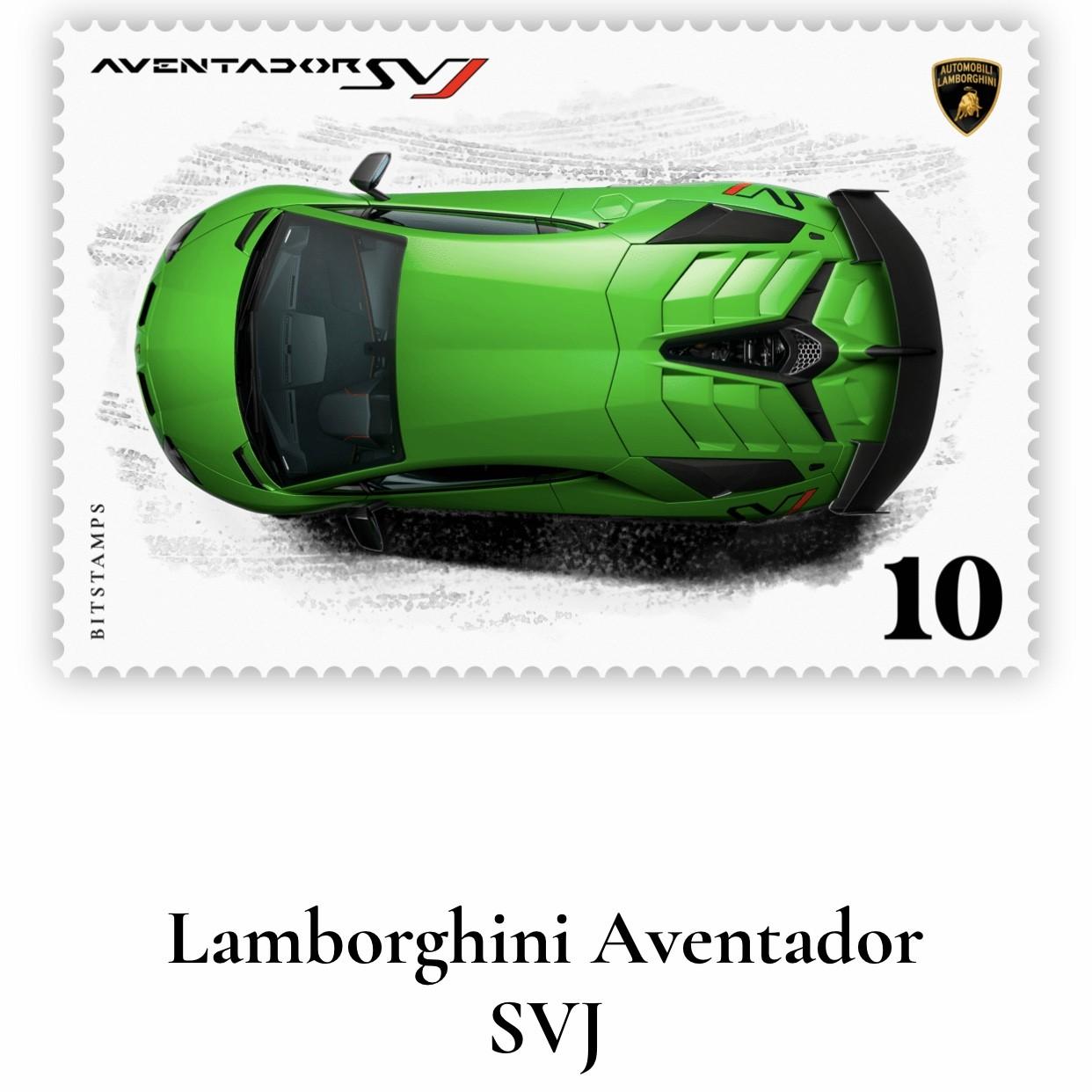 ランボルギーニ,デジタル切手